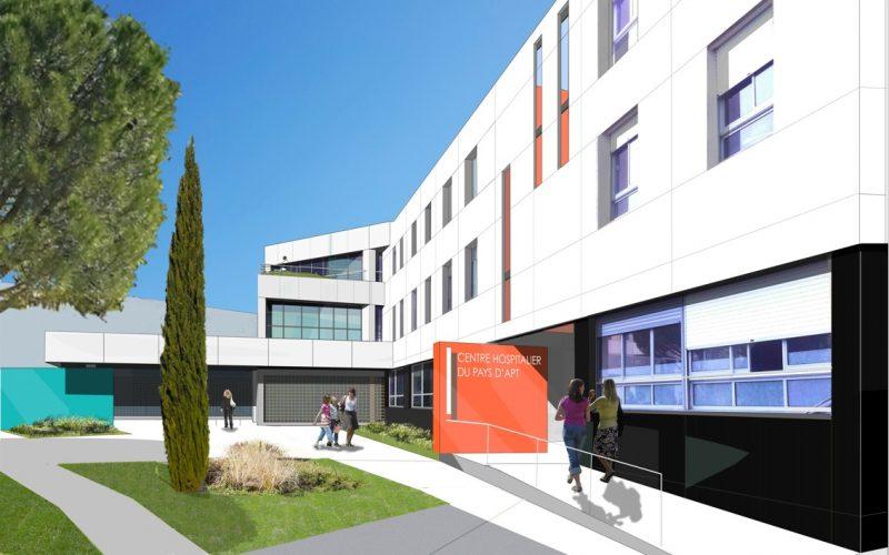 Modernisation de l'hôpital : mars 2017, les travaux ont démarré !