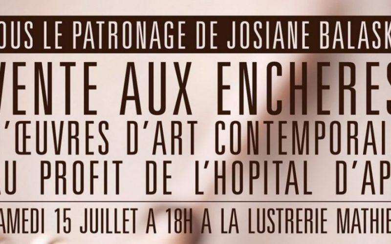VENTE AUX ENCHERES D'OEUVRES D'ART CONTEMPORAIN 2017